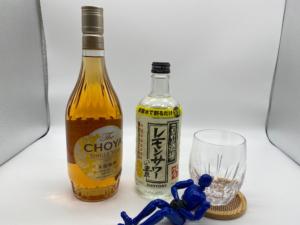 「こだわり酒場のレモンサワーの素」と「The CHOYA SINGLE YEAR」は常備酒としておすすめだよ、という話。