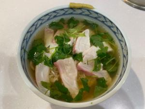【あさっり美味しい】みつばと白身魚の和風茶漬け【簡単レシピ】